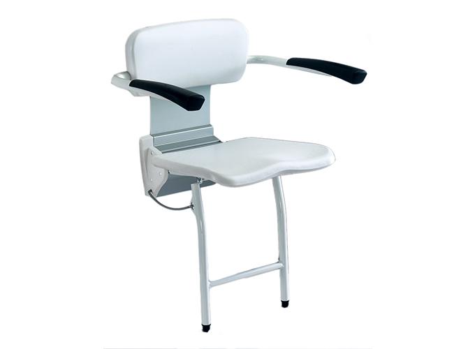 Montažna tuš stolica s rukonaslonima R8804